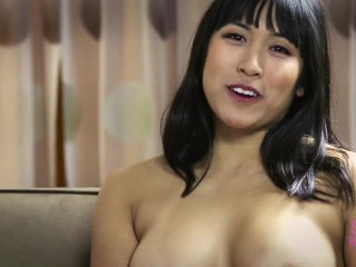 Mia Li on the set of Skye Karley America`s Newest Sex Symbol