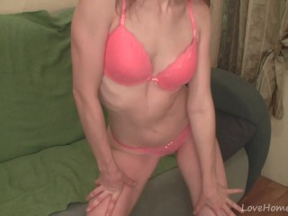 Passionate play time with the newest sex toy