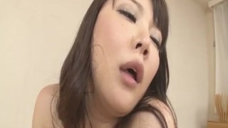 Busty Asian lady, Hinata Komine, craves for a wild fuck  pink-pussy anal mmf doggy style hardcore action anal penetration red-lingerie tit-fuck dp javhd mom creamed ass