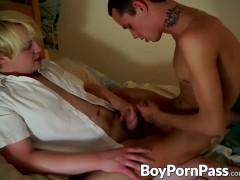 Jake Patton and his boyfriend Kyle enjoy flip fucking one another