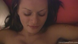 My sexy girlfriend gives me a passionate sucking