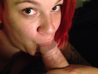 blowing my cock so goodw