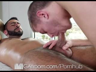 GayRoom - Ian Levines Bubble Butt Fucked Hard by Rikk York