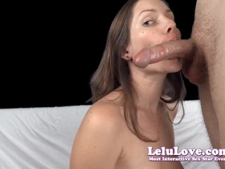 Lelu Love-Topless Blowjob Cock Sucking Tutorial