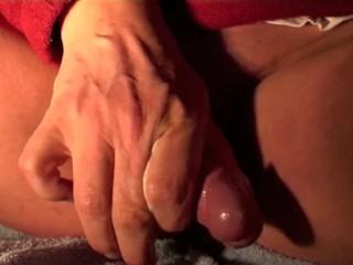 hot rubbing in the bath room