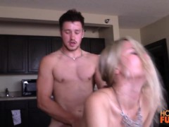 Hunter Gage fucks his friends real current girlfriend pt.4