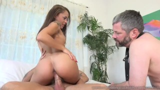 Holly Hendrix Cuckolds Husband and Makes Him Eat Cum  big cock masturbation cuckold wife husband blowjob cumshot big dick bisexual cumeatingcuckolds brunette bull petite 3some threesome tattoos cum eating small
