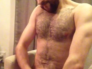 beating my cock