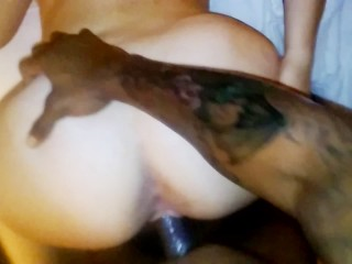 thick thumpers BBC vs Boriqua BUNNY CREAMING SCREAMING OWWWW