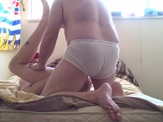 older dad bb fucks jock son-prt1