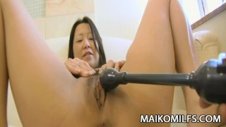 Kumiko Katsura - Mature JAV Gets Pussy Plugged And Creampied  riding hairy close-up cock-sucking creampie hd maikomilfs pov jav kumiko-katsura toys milf cum-in-pussy cowgirl face-fuck
