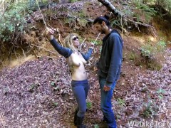 Punishing Some Bitch in The Forest and Fucking Her Senseless