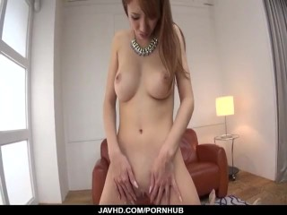 Webcam porn session with insolent Nami Itoshino