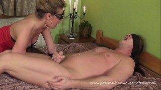 Amateur Couple Femdom Sex.(69, Prostate Massage, Face Sitting, Huge Squirt)  prostate massage candle wax handjob latex gloves face sitting squirt facesitting truutruu femdom handjob squirting wax orgasm adult toys huge squirt huge toys