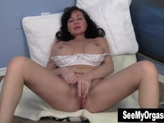 XXX porn - estel-two: Sweet MILF Leah Masturbating