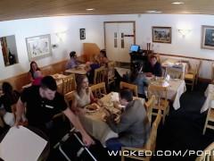 Wicked – Couple has sex in public bathroom