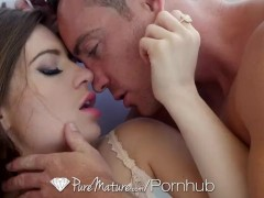 PureMature – Busty MILF Veronica Vain gets her tight pussy fucked