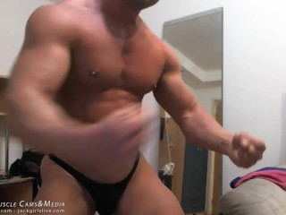 Muscle Chat Spy Cam Jerk