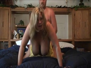 Busty Wife Fucking at Home
