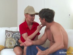 Brazzers – Dirty cable repair-girl Devon