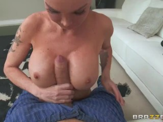 Dirty cable repair-girl Devon - Brazzers