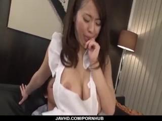 Office hardcore sex play with busty Kaede Niiyama