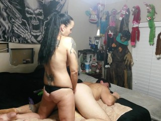 She pegged my ass hard! Made me do Ass to mouth!