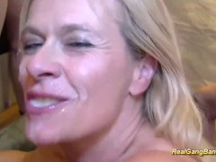 busty extreme pierced Milf gets massive banged