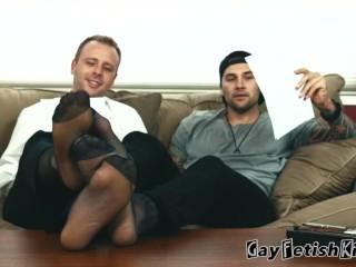 Foot worship Master Kurt & Landon