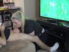 FIFA Video Game Blowjob