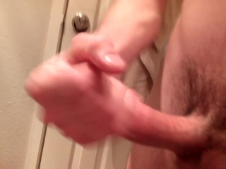 Young stud stroking cock 3