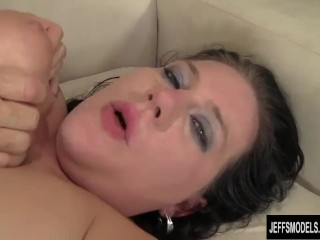 BBW Beckie Butterfly Takes cock
