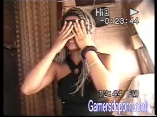 Gamersdoporn Productions - Nikki's 1st Time on the Gamers Bus - Cam B