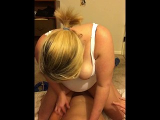 Hot tranny strips and play her big dick