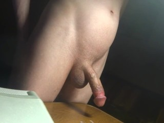 Masturbation in the Room at Night, homemade solo