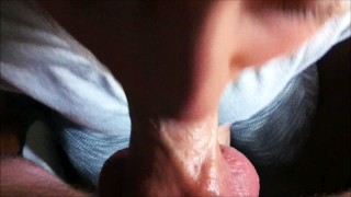 19 y/o Andie Gets Face Fucked and Fed Big Cum Load and Swallows
