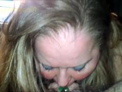Fatty BBW MILF CAM Girl Sucks Cock like an Ugly Deepthroat BJ Whore