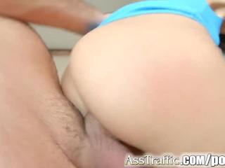 Asstraffic closeup anal fucking with Meg Magic