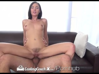 CastingCouch-X - Marley Brinx shows how much she wants to get into porn