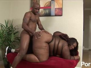 Bouncy Black Tits 11 - Scene 2