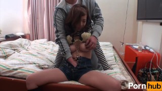 Hello Titty 10 - Scene 3  throating big-tits dick-riding shaved-pussy asian mom blowjob sex-toys natural-boobs milf japanese brunette cowgirl pornhub mother adult toys
