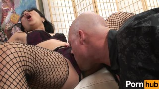 MILFs Take Charge 1 - Scene 4  doggy style cock-sucking pussy-licking asian fishnet mom blowjob milf hardcore reverse-cowgirl filipina pornhub shaved mother small-tits big-dick stockings facial
