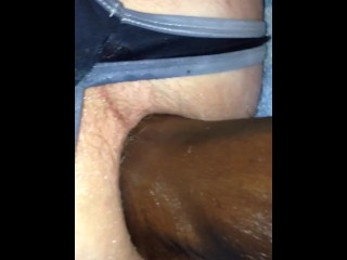 Footfucking my ass