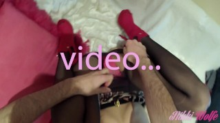 04 - Cum in my panties before we go - Saturday Night part1 - Nikki's WE #1  nikki wolfe panties babe sexy blowjob hot panties fetish kink gorgeous tight deepthroat nice ass play with cum panthyhose red heels leopard dress