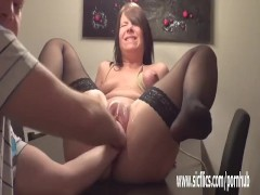 Teen pussy double fisting destruction