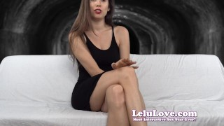 Lelu Love-Chastity Challenge To Fuck Me Or CEI  denial homemade tease hd chastity femdom cei amateur solo fetish domination edging brunette cum eating natural tits flashing lelu love