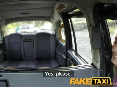FakeTaxi Slim lady in black sexy boots