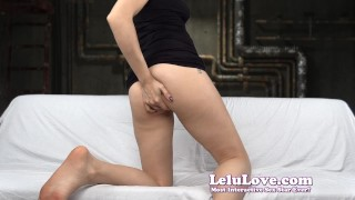 Lelu Love-FemDom Punishment Games  homemade teasing tease flashing hd humiliation foot amateur solo soles instruction fetish domination brunette feet natural tits lelu love
