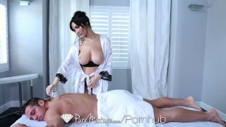 PureMature - Diana Prince gets anal fucked after hot massage