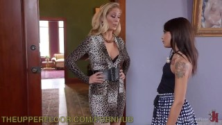 Step-Mother And Step-Daughter Domination  stepmother bdsm big-tits punish small blonde theupperfloor big-boobs domination milf kink gagged brunette petite 3some bondage small-tits stepdaughter face slapped